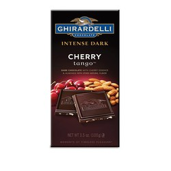 Intense Dark Chocolate Cherry and Almond Bar 3.5 oz.