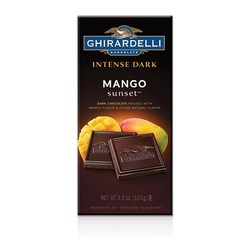 Intense Dark Chocolate Mango Bar 3.5 oz.