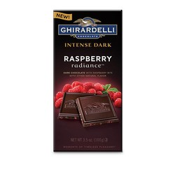 Dark Chocolate with Raspberry Bits Bar 3.5 oz.