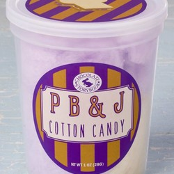 Gourmet Cotton Candy - Peanut Butter & Jelly