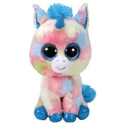 Beanie Boos - Blitz Unicorn Blue - Small 6""