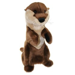 Long-Sleever Glove Puppet Otter