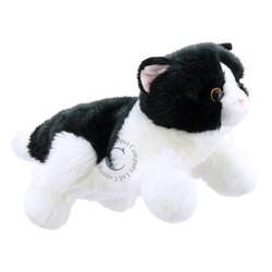 Black & White Cat Puppet