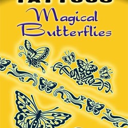 Glow-in-the-Dark Tattoos Magical Butterflies