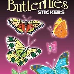 Glow-in-the-Dark Butterflies Stickers