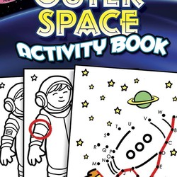 Outer Space Activity Book