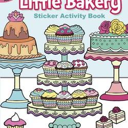 Little Bakery Sticker Activity Book