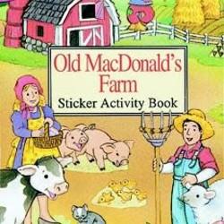 Old MacDonald's Farm Sticker Activity Book
