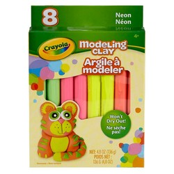 Crayola Modeling Clay 8 Count - Neon