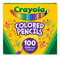 Crayola Colored Pencils 100 Count