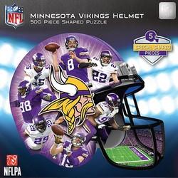Minnesota Vikings 500PC Helmet Shaped Puzzle