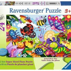 Cute Bugs - 24 Piece Floor Puzzle