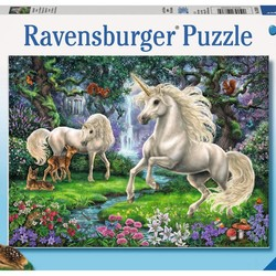 Mystical Unicorns - 200 Piece Puzzle