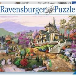Hillside Retreat - 500 Piece Puzzle