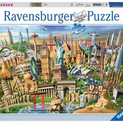 World Landmarks - 1000 Piece Puzzle