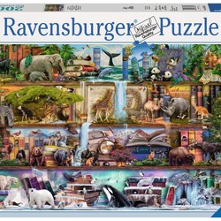 Wild Kingdom Shelves - 2000 Piece Puzzle