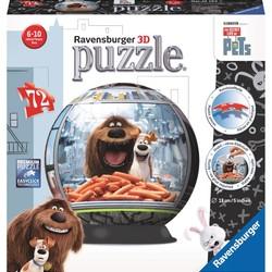 3D The Secret Life of Pets - 72 Piece Puzzle