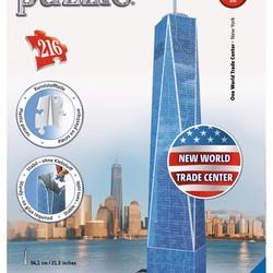 3D One World Trade Center NY - 216 Piece Puzzle