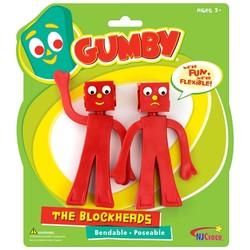 "Blockheads 5"" Bendable Pair"