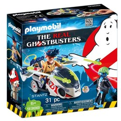 The Real Ghostbusters - Stantz with Skybike