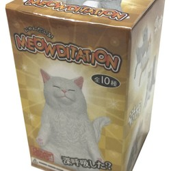 Meowditation: Blind Box Figure #1