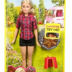 Barbie Campfire Doll