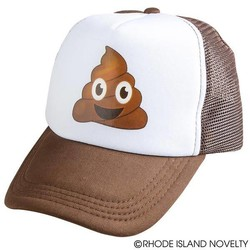 Emoticon Poop Trucker Hat