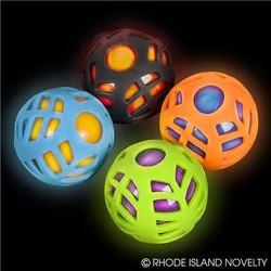 """2.5"""" Light Up Sports Ball"""