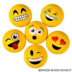 "2"" 45mm Emoticon Hi Bounce Ball"