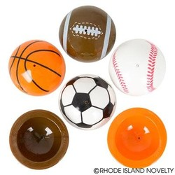 "1.75"" Sports Ball Poppers 48 Piece Bag"