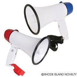 "8"" Battery Operated Megaphone"