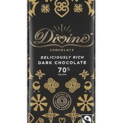3.5 oz. 70% Dark Chocolate Bar