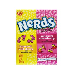 Big Nerds Candy Gift Box - Lemonade Wild Cherry/Strawberry