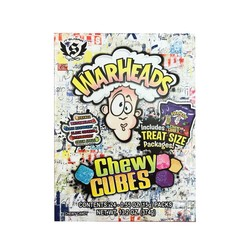 Big Warheads ® Chewy Cubes Candy Gift Box