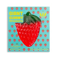 Giant Gummy Strawberry