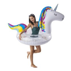 Bright Unicorn Tube Pool Float