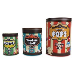 Candy Shop Canister Set