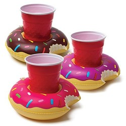 Frosted Donuts Beverage Boats - 3 pk.