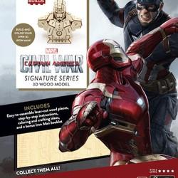 IncrediBuilds - Marvel - Captain America, Civil War: Iron Man 3D Model