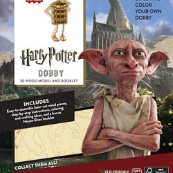 IncrediBuilds - Harry Potter - Dobby 3D Wood Model and Booklet