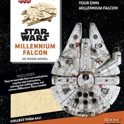 IncrediBuilds - Star Wars - Millennium Falcon 3D Wood Model