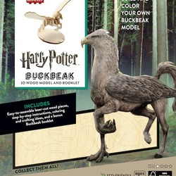 IncrediBuilds - Harry Potter - Buckbeak 3D Wood Model & Book