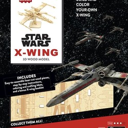 IncrediBuilds - Star Wars - X-Wing 3D Wood Model & Book