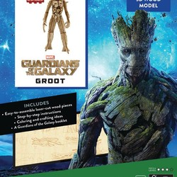 IncrediBuilds - Marvel - Guardians of the Galaxy Groot 3D Wood Model & Book