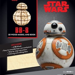 IncrediBuilds - Star Wars - The Last Jedi BB-8 3D Model & Book