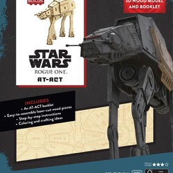 IncrediBuilds - Star Wars - Rogue One AT-ACT 3D Wood Model & Book