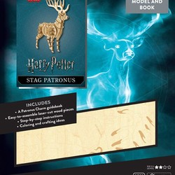 IncrediBuilds - Harry Potter - Stag Patronus 3D Wood Model & Book