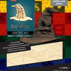IncrediBuilds - Harry Potter - Sorting Hat 3D Wood Model & Book