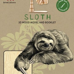 IncrediBuilds - Animal Collection - Sloth 3D Wood Model