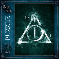 Harry Potter Deathly Hallows Puzzle - 550 pc.